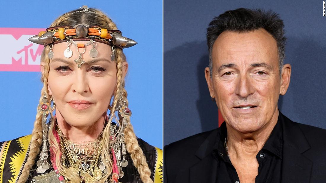Madonna Springsteen álbumes