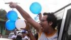 Líder opositor nicaragüense pide justicia bailando