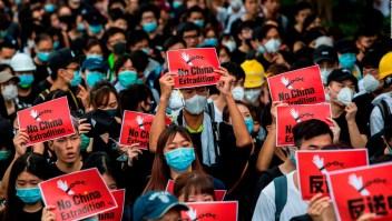 Protestas en Hong Kong piden la renuncia de Lam