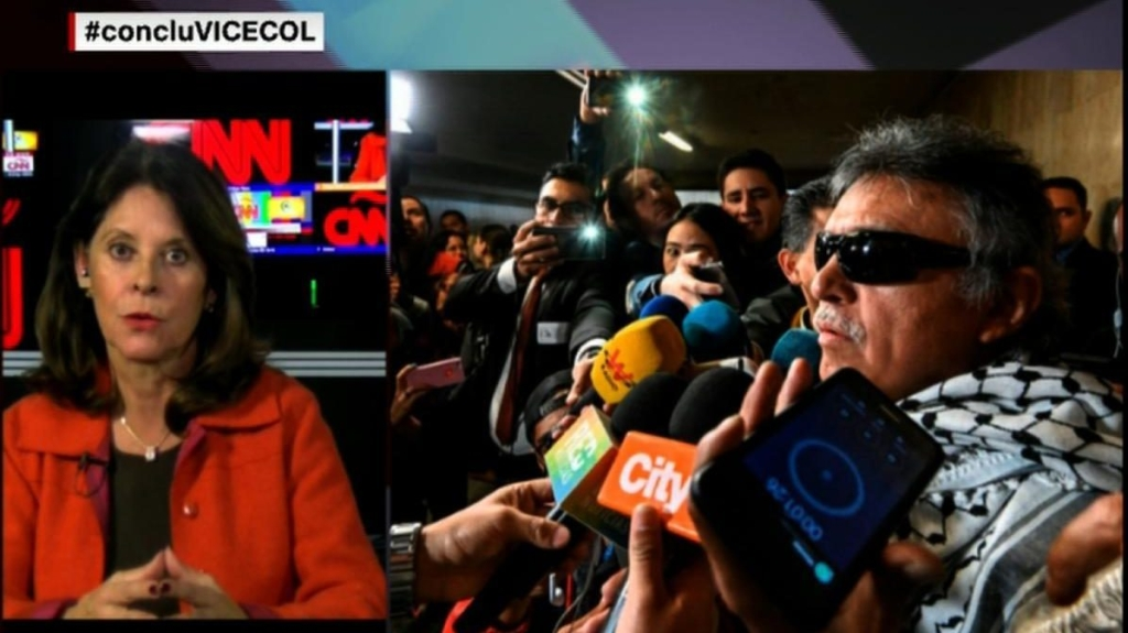 """Marta Lucía Ramírez: """"Santrich sigue involucrado en el narcotráfico"""""""