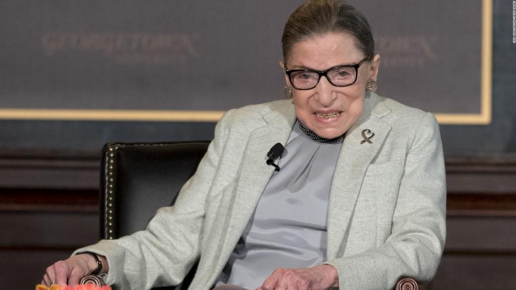 Ruth Bader Ginsburg recibe un premio MTV