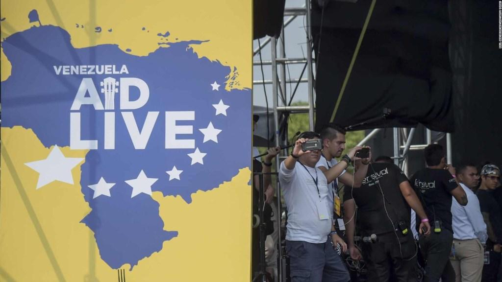 ¿Dónde está el dinero de Venezuela Aid Live?