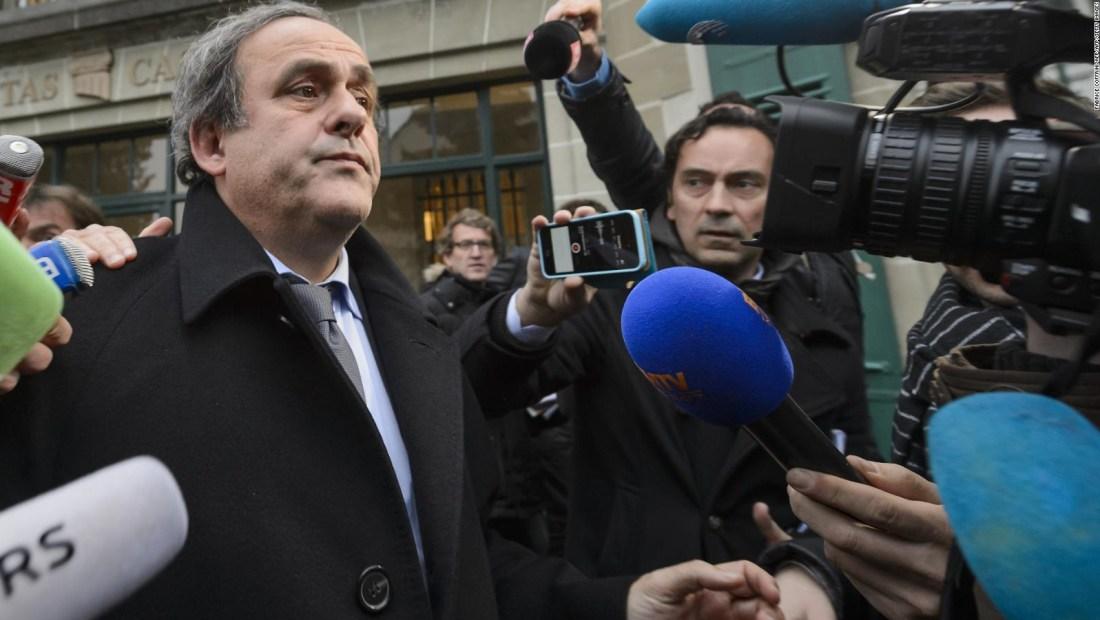 Platini, liberado sin cargos