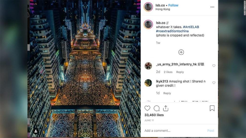 Hongo Kong foto viral extradición