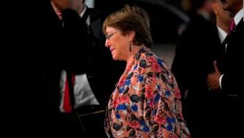 Michelle Bachelet llega a Venezuela enviada por la ONU