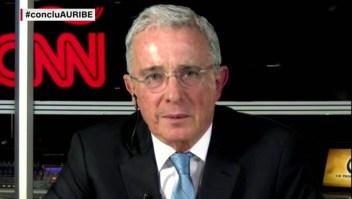 """Álvaro Uribe: """"La política del Gobierno anterior era tapar"""""""