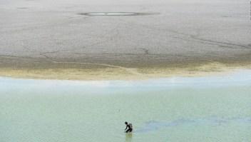 La reserva de agua de esta ciudad de la India está seca