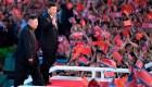 Xi, el primer líder chino en Corea del Norte en años