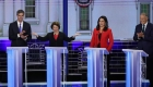 ¿Quién ganó el debate demócrata?