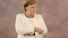 Merkel aparece temblando en público por segunda vez
