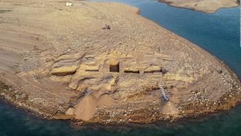 Un palacio de 3.400 años se descubre gracias a la sequía