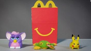 Niñas plástico McDonald's