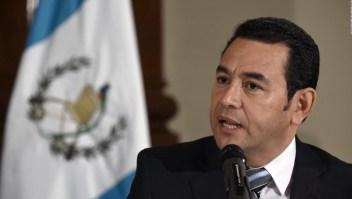 Choque de poderes en Guatemala
