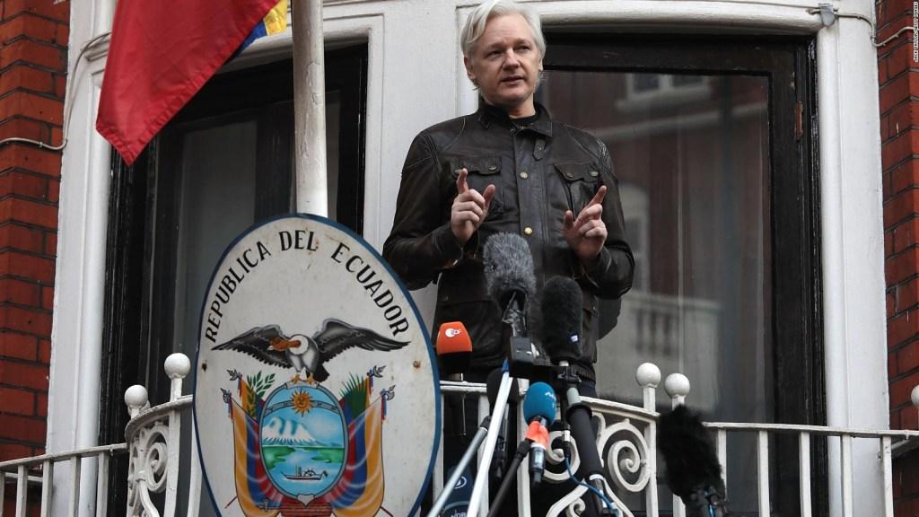Exclusivo: El comando central de Julian Assange para el caos