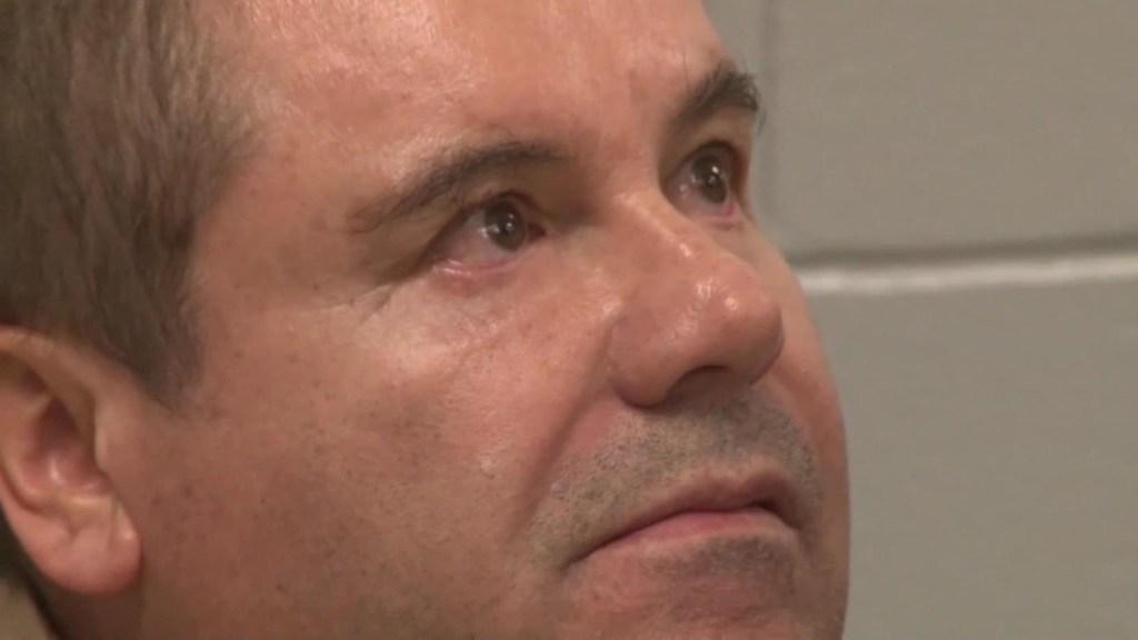 """De """"monumental"""" tilda agente especial condena del Chapo"""