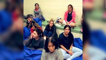 Testimonios en centro de detención