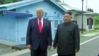 Los históricos pasos de Trump en suelo norcoreano