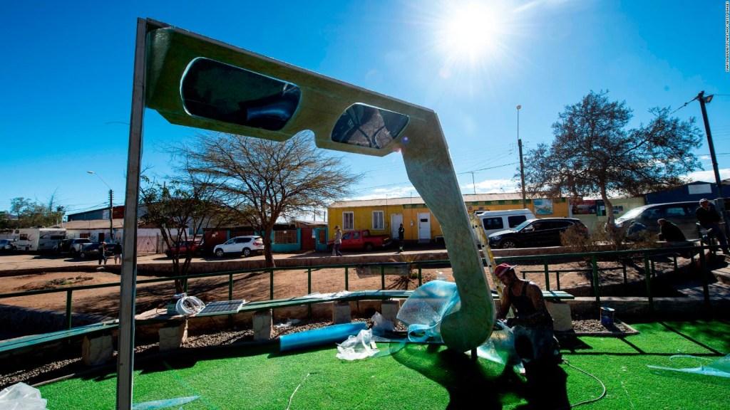 Preparativos en Chile y Argentina para ver el eclipse total de Sol