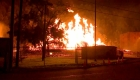Este incendio acabó con 45.000 barriles de alcohol