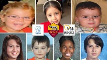 Ingeniosa iniciativa de AS Roma para buscar niños desaparecidos