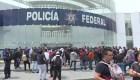 Policías federales protestan por la Guardia Nacional