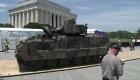 Militares están preocupados por el desfile del 4 de julio