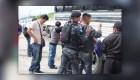 Unos 109 migrantes detenidos en Guatemala