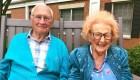 Esta pareja de centenarios está recién casada