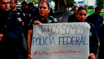 """Policías federales piden no ser evaluados en """"examen de confianza"""""""