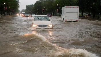 Lluvias torrenciales e inundaciones repentinas en Washington