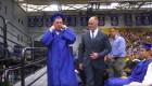 Una graduación que se celebró en silencio