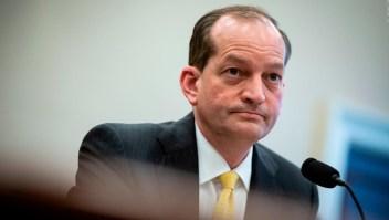 ¿Cuál será la suerte del secretario de Trabajo de EE.UU.?