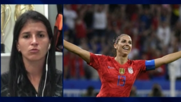 """Jugadora de Colombia: """"Campeonas de EE.UU. deberían ganar más que los hombres"""""""
