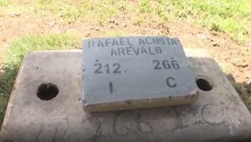 El entierro de Rafael Acosta Arévalo