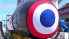 Francia presenta nuevo submarino nuclear