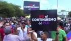Medina busca un tercer mandato y dominicanos protestan
