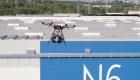 Empresa española transporta sus piezas a través de drones