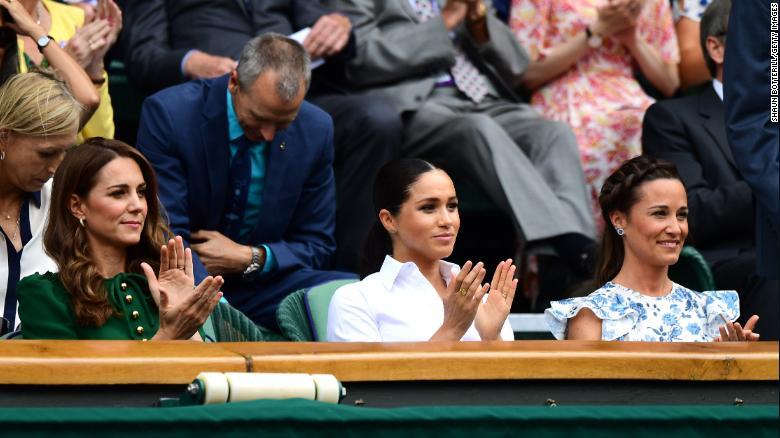 Catalina Middleton, Pippa Middleton, Meghan Markle, Wimbledon