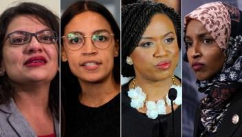 Trump defiende ataque racista contra legisladoras demócratas