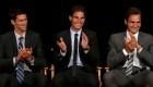 El dominio de Federer, Nadal y Djokovic en el tenis mundial