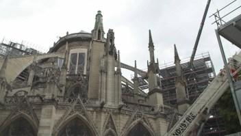 3 meses después del incendio, así se ve Notre Dame
