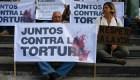Venezolanos marchan a favor de los derechos humanos
