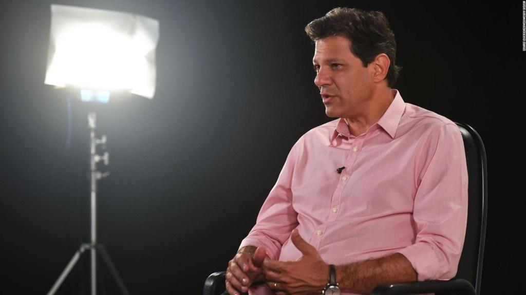 Haddad habla de Bolsonaro, Lula Da Silva y Macri