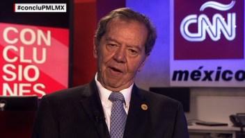 ¿Se conmueve Porfirio Muñoz Ledo por la sentencia del Chapo?