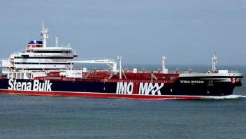 Gran Bretaña  lanza advertencia a Irán por retener uno de sus petroleros