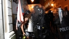 Policía de Puerto Rico lanza gases lacrimógenos a marcha