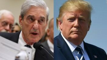 """Mueller ante el Congreso: """"Trump no fue exonerado"""""""