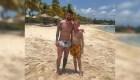 Un niño vio a Messi en una playa y el astro lo invitó a jugar