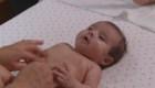 Los beneficios del masaje para un bebé
