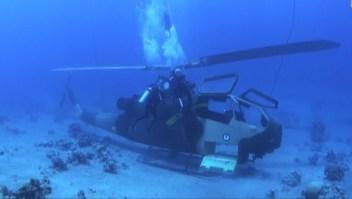 Un museo militar bajo el agua